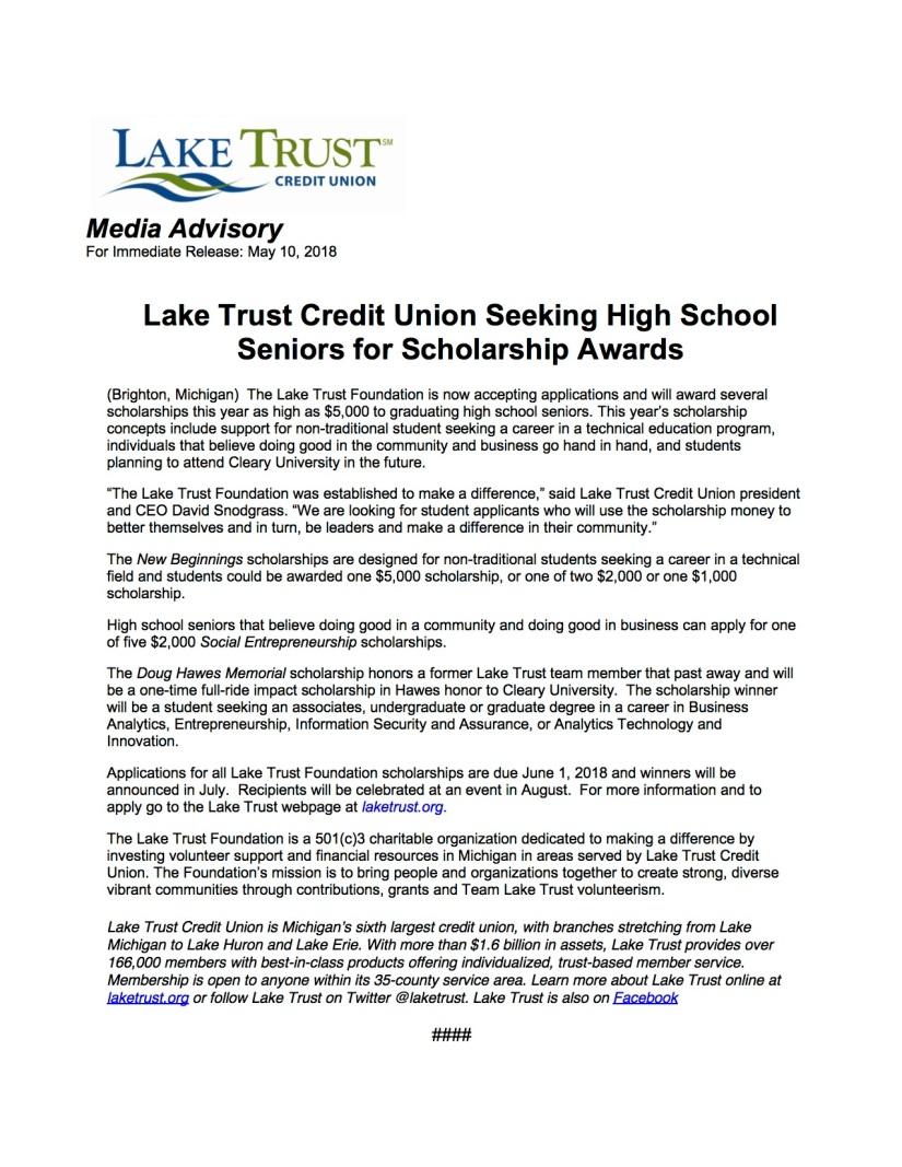 Lake Trust scholarship press release2018draft1.jpg